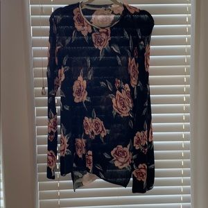 Show Me Your Mumu floral sweater